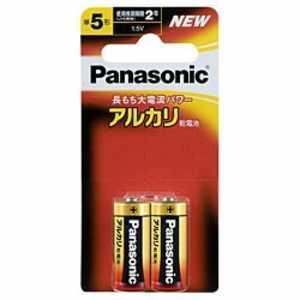 パナソニック Panasonic アルカリ乾電池単5形2本パック Ax2単5 LR1XJ2B