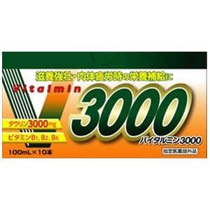伊丹製薬 バイタルミン3000(100mL×10本) 部外10本× バイタルミン3000100MLX10