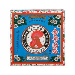 大日本除虫菊 金鳥の渦巻K 10巻入〔蚊取り線香〕 キンチョウノウズマキK10