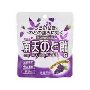 常盤薬品 【第3類医薬品】 南天のど飴G蜂蜜ぶどう(22錠) ナンテンノドアメG22T