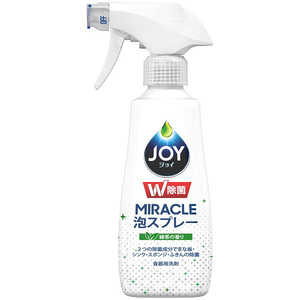 P &G JOY(ジョイ)W除菌 ミラクル泡スプレー 緑茶の香り 本体 275ml ジョイアワリョクチャホン