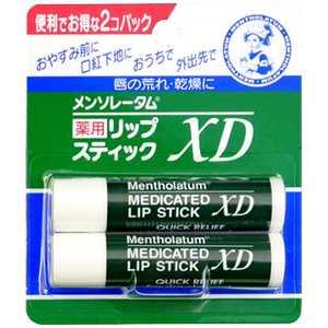 メンソレータム 薬用リップスティック XD 4g×2個パック