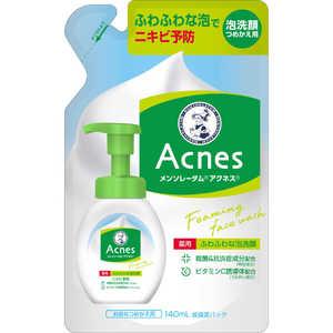 メンソレータム アクネス薬用 ふわふわな泡洗顔 つめかえ用 140ml