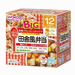 アサヒグループ食品 栄養マルシェ ベビーフード 110g 80g イナカフウベントウビッグサイズ