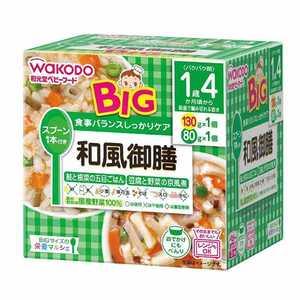 アサヒグループ食品 栄養マルシェ ベビーフード 130g 80g ワフウゴゼンビッグサイズ