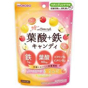 アサヒグループ食品 和光堂 ママスタイル 葉酸+鉄キャンディ 78g [2104]