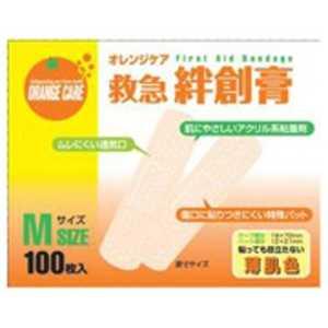 オレンジケアプロダクツ 「オレンジケア」絆創膏 Mサイズ「ばんそうこう」 Mサイズ オレンジケアバンソウコウMサイズ