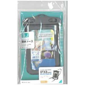 ラスタバナナ スマートフォン用[周囲 165mm/4インチ]防水ケース Sサイズ ブラック BK RBOT200