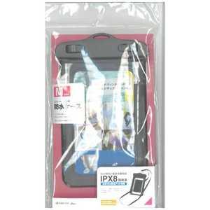 ラスタバナナ スマートフォン用[周囲 175mm/4.7インチ]防水ケース Mサイズ ブラック BK RBOT202