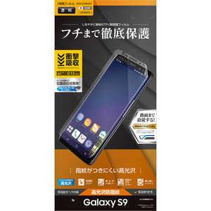 ラスタバナナ Galaxy S9 薄型TPU光沢防指紋フィルム UG1090GS9