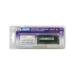 CFD DDR3 ノート用 204pin SO-DIMM (DDR3-1600) D3N1600PSL4G