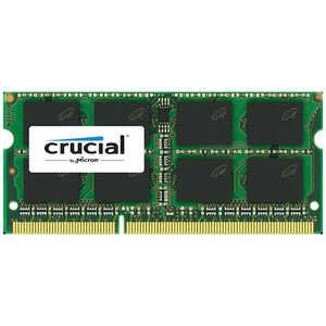 CFD 増設メモリ ノート用 Crucial スタンダードモデル DDR3L-1600 204pin SO-DIMM 4GB D3N1600CM4G