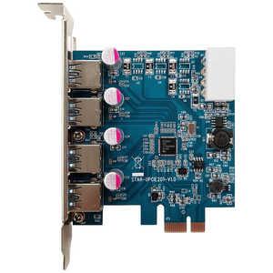玄人志向 インターフェースボード USB3.0 Type-Ax4(Renesus μPD720201搭載、PCI-Express x1接続) USB3.0RAP4PCIE