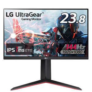 LG UltraGear 23.8インチ 144Hz IPS 1ms(GTG) ゲーミングモニター 24GN650BAJP