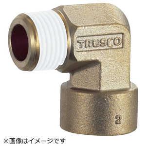トラスコ中山 TRUSCO ねじ込み継手 エルボ R1/8-RC1/8 ドットコム専用 TN11L