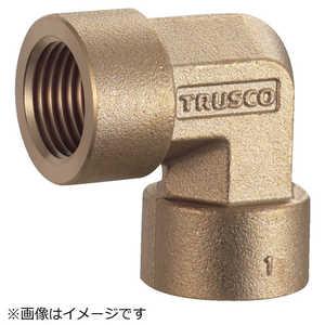 トラスコ中山 TRUSCO ねじ込み継手 エルボ RC1/8XRC1/8 ドットコム専用 TN21L