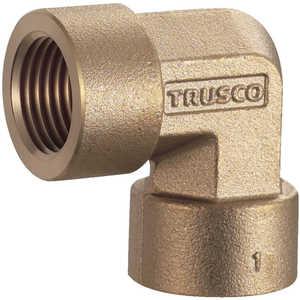 トラスコ中山 TRUSCO ねじ込み継手 エルボ RC1/2XRC1/2 ドットコム専用 TN24L