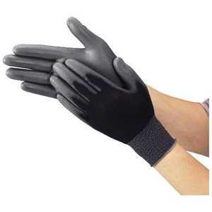 トラスコ中山 TRUSCO ウレタンフィット手袋 黒 Mサイズ ドットコム専用 TUFGBM