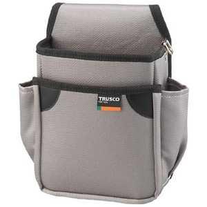 トラスコ中山 TRUSCO 小型腰袋 二段 グレー ドットコム専用 TC51GY