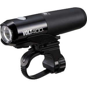 キャットアイ USB充電式LEDヘッドライト VOLT400(ブラック) BK HLEL461RC