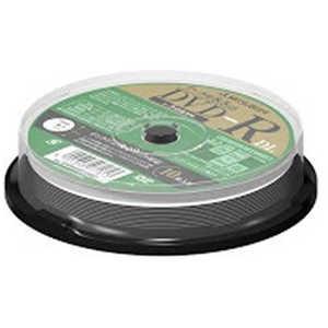 VERBATIMJAPAN データ用 DVD-R DL 2-8倍速対応 8.5GB 10枚スピンドル DHR85HP10SD1