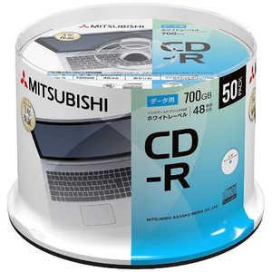 VERBATIMJAPAN データ用CD-R 700MB 50枚(スピンドル) PB# SR80FP50SD1B