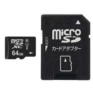 VERBATIMJAPAN microSDXCカード Office Save OSMSD64G