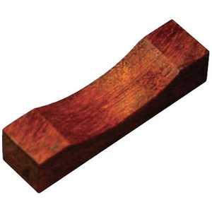 丸十 木製 角型箸置 鉄木 目摺り ドットコム専用 PHSC301