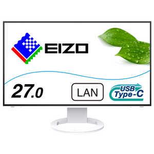 EIZO USB-C接続 PCモニター FlexScan [27型/ワイド/WQHD(2560×1440)] ホワイト EV2795WT