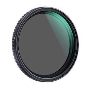 K &FCONCEPT NANO-X バリアブル(可変式) NDフィルター 52mm 減光範囲ND2~ND32 KF52NDX232