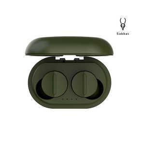 SABBAT フルワイヤレスイヤホン MOSS [リモコン・マイク対応 /ワイヤレス(左右分離) /Bluetooth /ハイレゾ対応 /ノイズキャンセリング対応] VOOPLAYSERIES