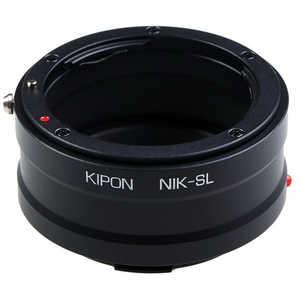 マウントアダプター レンズ側:ニコンF ボディ側:ライカL KIPON NIKON-L NFL