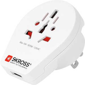 S-KROSS World to USA USB ホワイト 1500262