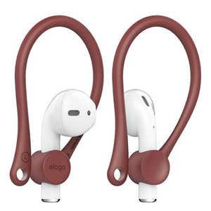ELAGO elago(エラゴ) Ear Hook(イヤーフック) for AirPods レッド ELAPDCSTPEHRD