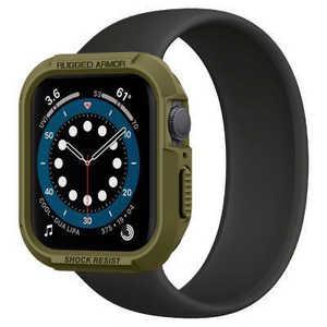 SPIGEN Apple Watch Series 6/SE/5/4 (44mm) Case Rugged Armor Olive Green オリーブ 062CS26015