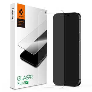 SPIGEN iPhone 12/12 Pro 6.1インチ対応 Glas. tR HD(1pack) ガラスフィルム AGL01511
