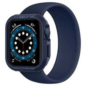 SPIGEN Apple Watch Series 6/SE/5/4 (44mm) Case Rugged Armor Navy Blue ネイビーブルー ACS02224